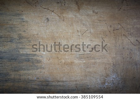 Grungy colorful wooden surface - stock photo