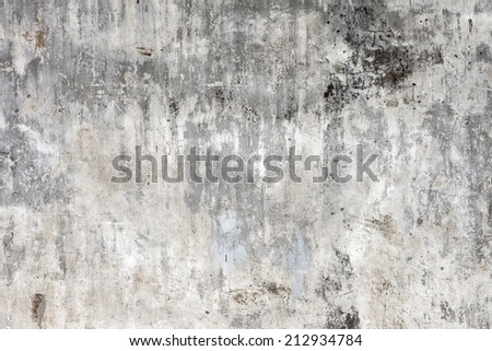 Grungy Concrete Old Texture Wall - stock photo