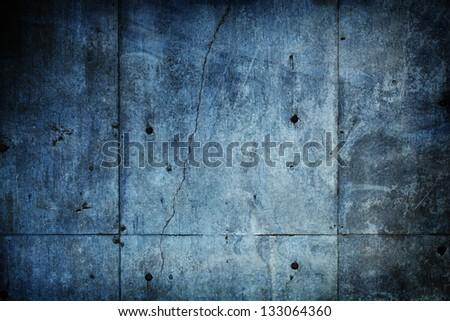 Grungy concrete stone wall - stock photo