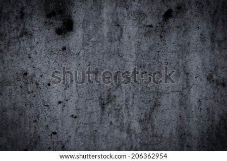 Grungy concrete wall and floor as background texture - stock photo