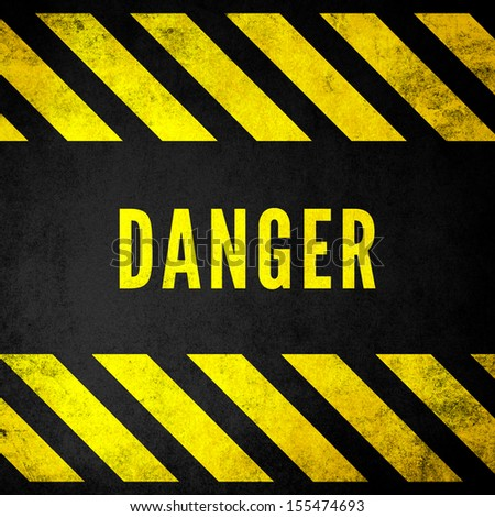 Grungy Danger Background