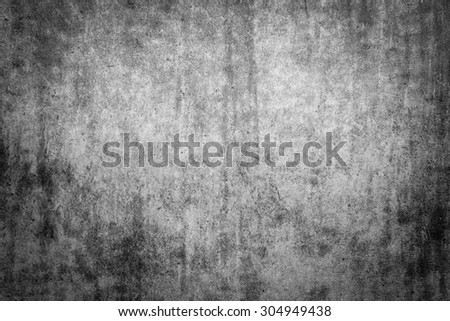 Grungy dirt cement wall textured background - stock photo