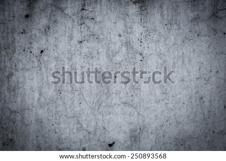 Grungy dirty concrete wall and floor as background texture - stock photo