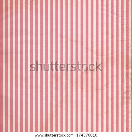 Grungy Distressed Vintage Digital Paper Striped Background - stock photo