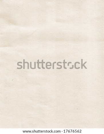 Grungy empty paper texture - stock photo