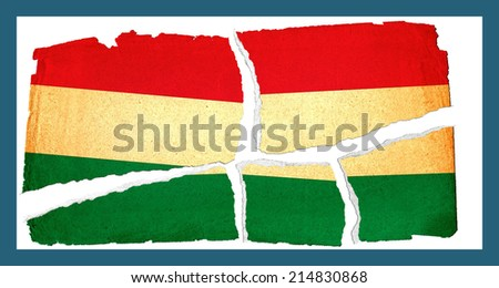 Grungy Flag - Hungary