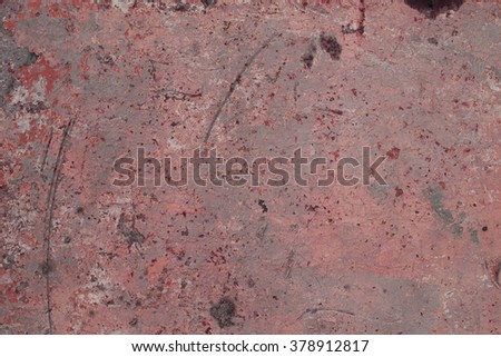 Grungy metal colorful surface