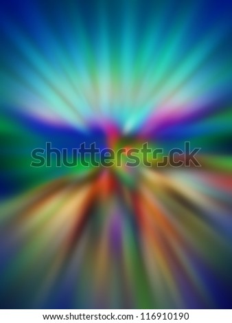 grungy multicolored blurred background of colored lights - stock photo