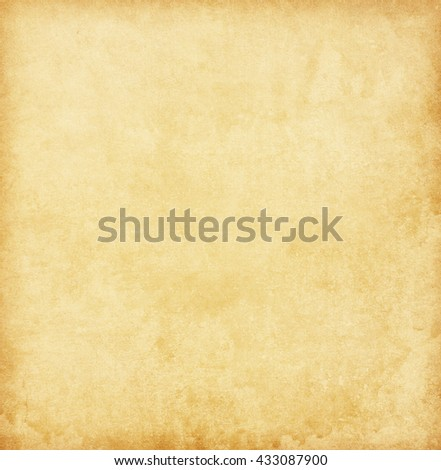 Grungy old paper. Beige background. - stock photo
