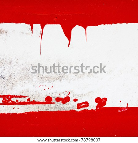 grungy painted background with copy-space - stock photo