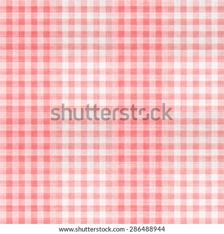 Grungy patterned red gingham check texture.