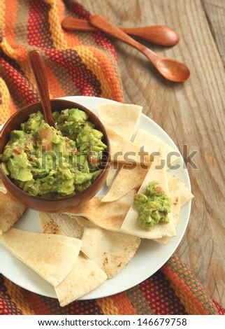 Guacamole  - stock photo