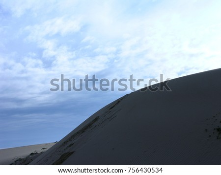 Guadalupe Dunes, California. USA