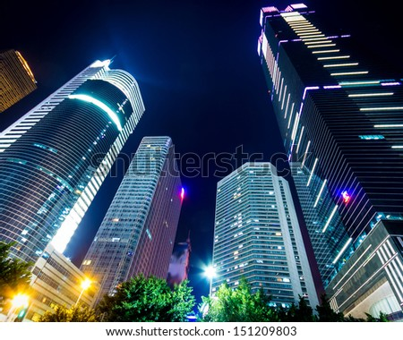 Guangzhou, China, the Pearl River Night