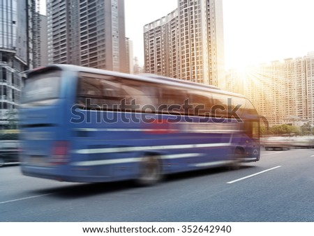 Guangzhou city bus