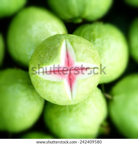 Guava. - stock photo