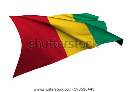 Guinea flag - collection no_5