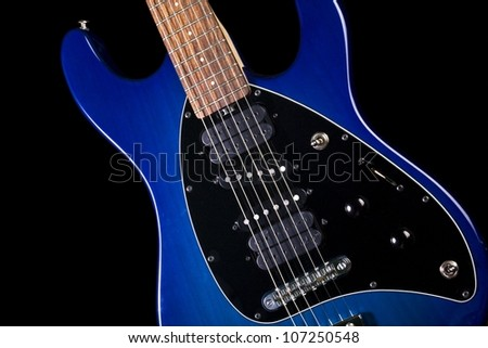 guitar 02 - stock photo