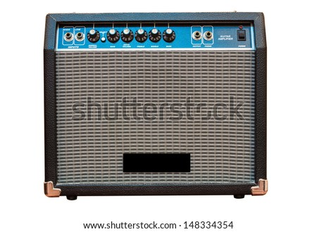 guitar amp - stock photo