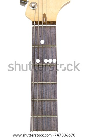 Guitar Chord B9 On White Background Stock Photo 747336670 Shutterstock
