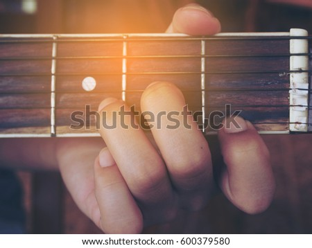 Guitar Chords D Minor Stock Photo 600379580 Shutterstock