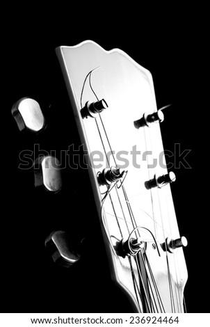 Guitar - musical instrument - stock photo