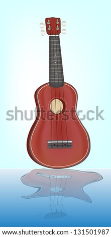 Guitar ukulele. Its a raster version. Vector search in my portfolio