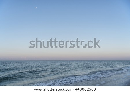 Gulf of Mexico at Daybreak on Sanibel Island, Florida