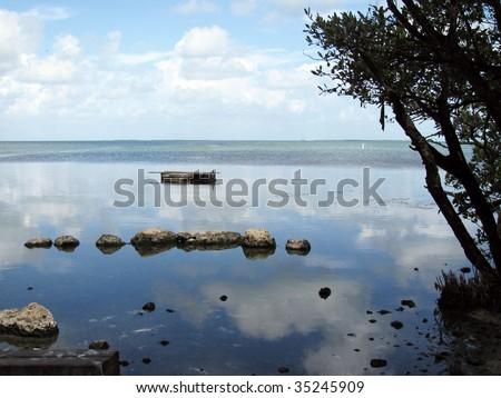 Gulf of Mexico, Florida Keys - stock photo