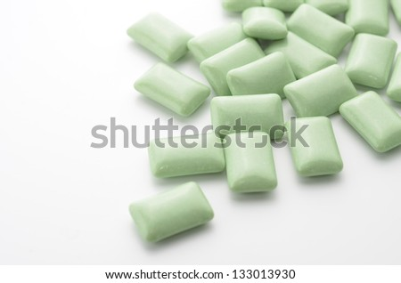 gum - stock photo