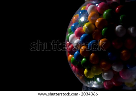 Gumball machine - stock photo