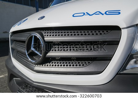 Sprinter van stock images royalty free images vectors for Mercedes benz stock symbol