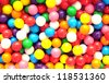 gummy ball candies for background uses - stock photo
