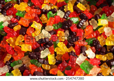 gummy bears - stock photo