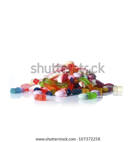 Gummy candy - stock photo