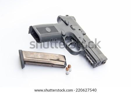 gun  - stock photo