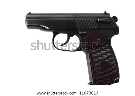 Gun - isolated on white