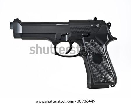 gun pistol - stock photo