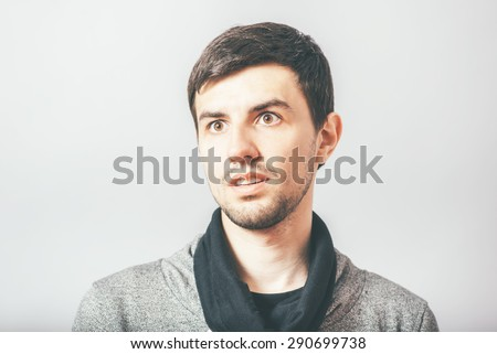 guy portrait - stock photo