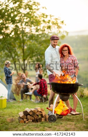 Campground Stock Images Royalty Free Images Amp Vectors