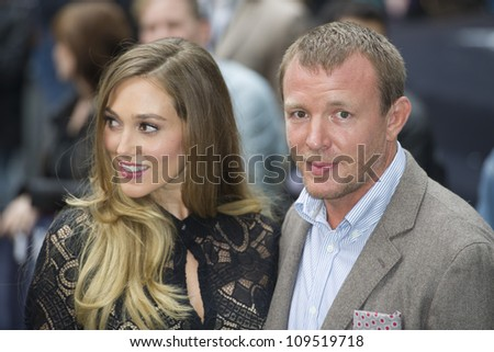 """Guy Ritchie arriving for European premiere of """"The Dark Knight Rises"""" at the Odeon Leicester Square, London. 18/07/2012 Picture by: Simon Burchell / Featureflash - stock photo"""
