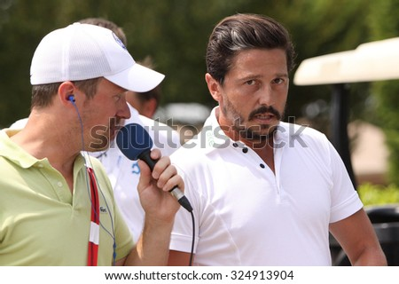 GUYANCOURT , FRANCE, JULY 04, 2015 : Mike Lorenzo-Vera ( fra ) During the third round of the French Open, European golf tour, July 04, 2015 at The golf National, Guyancourt, France.