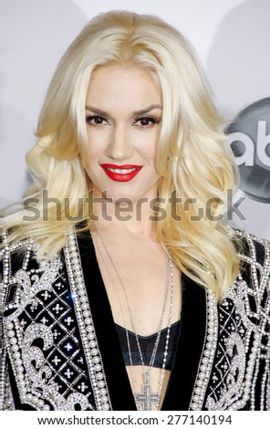 Gwen Stefani at the 40th Anniversary American Music Awards held at the Nokia Theatre L.A. Live in Los Angeles, United States, 181112.  - stock photo