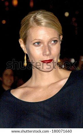Gwyneth Paltrow at The Fashion Group International's 23rd Annual Night of Stars, Cipriani, New York, NY, October 26, 2006
