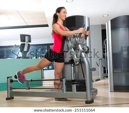 gluteus maximus workout machine