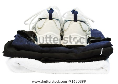 Gym kit - stock photo