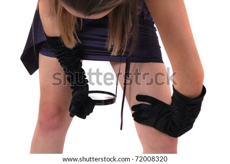 gynecology problem - stock photo