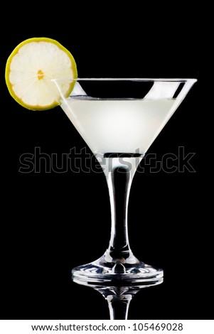 Gynfiz cocktail - stock photo
