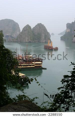 Ha Long Bay, Vietnam - stock photo