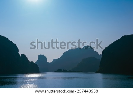 Ha Long bay vietnam - stock photo
